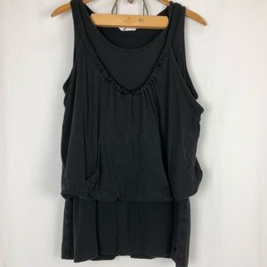 Adidas Athletic Double Tank Workout Tunic XL
